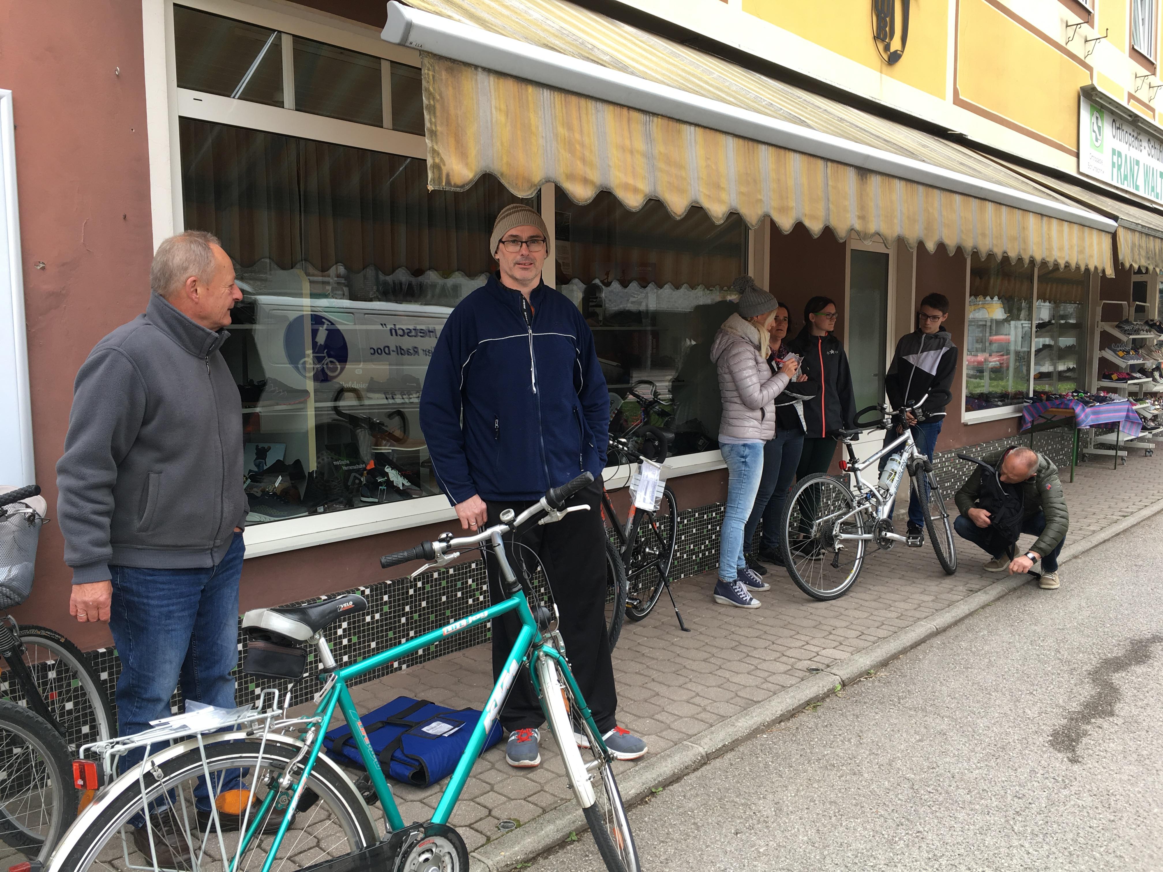 Fahrrad-Check in Blindenmarkt