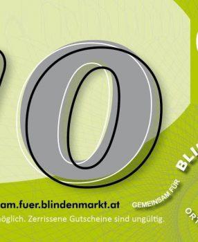 Einkaufsbonus-Aktion Juni 2020 – Einkaufen in Blindenmarkt bringt Mehrwert