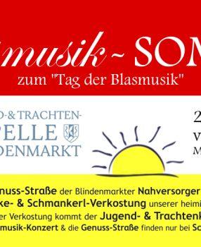 Blasmusik-SOMMER mit Genuss-Straße der Blindenmarkter Nahversorger