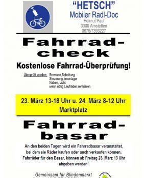 Fahrrad-Check & Fahrrad-Basar
